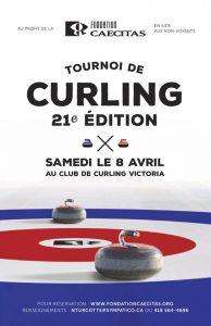 Tournoi de curling 21e édition